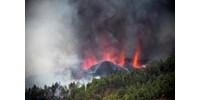 Videón, ahogy kitört a vulkán a Kanári-szigeteken