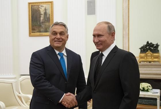 Vlagyimir Putyin elárulta, miről egyeztetett Orbán Viktorral