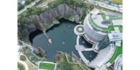 Így néz ki a világ első fordított luxusszállodája – fotók