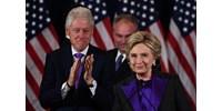 Bombát találtak Clintonék otthonánál