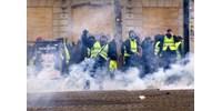 Megsérült a szeme a francia sárgamellényesek egyik vezetőjének