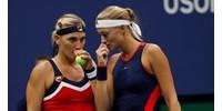 Babosék már elődöntősök a tenisz-világbajnokságon