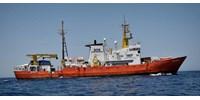 Kénytelen volt felhagyni tevékenységével az Aquarius mentőhajó