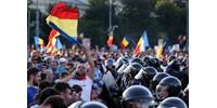 Betiltottak egy kormányellenes tüntetést Romániában, mert kell a hely a külügynek