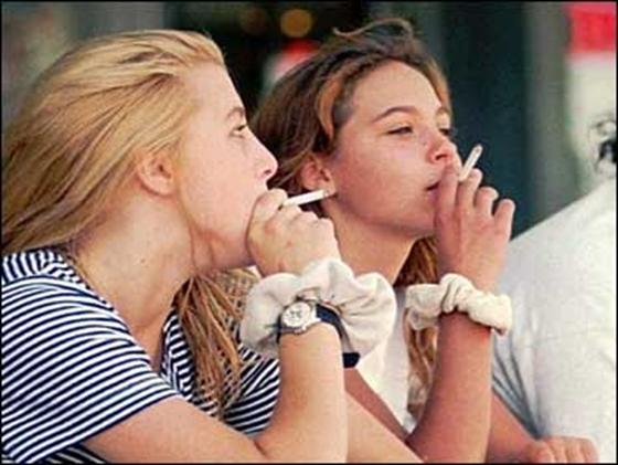 a dohányzás ellenőrzése az iskolában