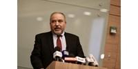 Lemondott az izraeli védelmi miniszter