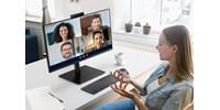 Beépített kamerával érkezik új monitor a Samsungtól, így már azonnal alkalmas videós hívásokra