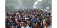 Migránskaraván: több ezren Mexikót választották az USA helyett