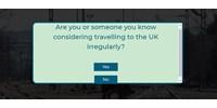 Independent: A brit belügyminisztérium kamuoldallal tántorítja el a menekülteket a beutazástól