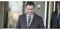 Már pénzmosás és tiltott pártfinanszírozás miatt is eljárás folyik hazájában Gruevszki ellen