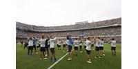 Fociőrület: csak az edzést 50 ezren nézték