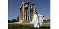 Jó állapotú Hermész-fejszobrot találtak Athénban csatornázási munka közben