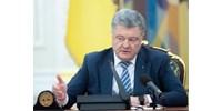 Porosenko: nem hosszabbítják meg a hadiállapotot, ha nem lesz orosz támadás Ukrajna ellen
