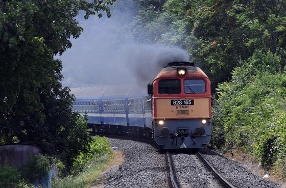 a vonat látása