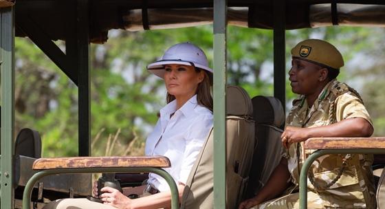 Melania Trump arra panaszkodik: nála gyakrabban senkit sem zaklatnak