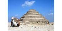 Újra megnyitották Dzsószer fáraó 4700 éves nagy sírját – videó