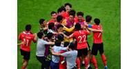 Örökre eltiltottak egy dél-koreai válogatott focistát, mert hamis papírokkal úszta meg a katonaságot