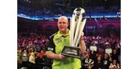 Simán nyerte van Gerwen a darts-világbajnokságot