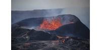 Fél éve ontja magából a lávát az izlandi vulkán és nem úgy tűnik, hogy fáradna
